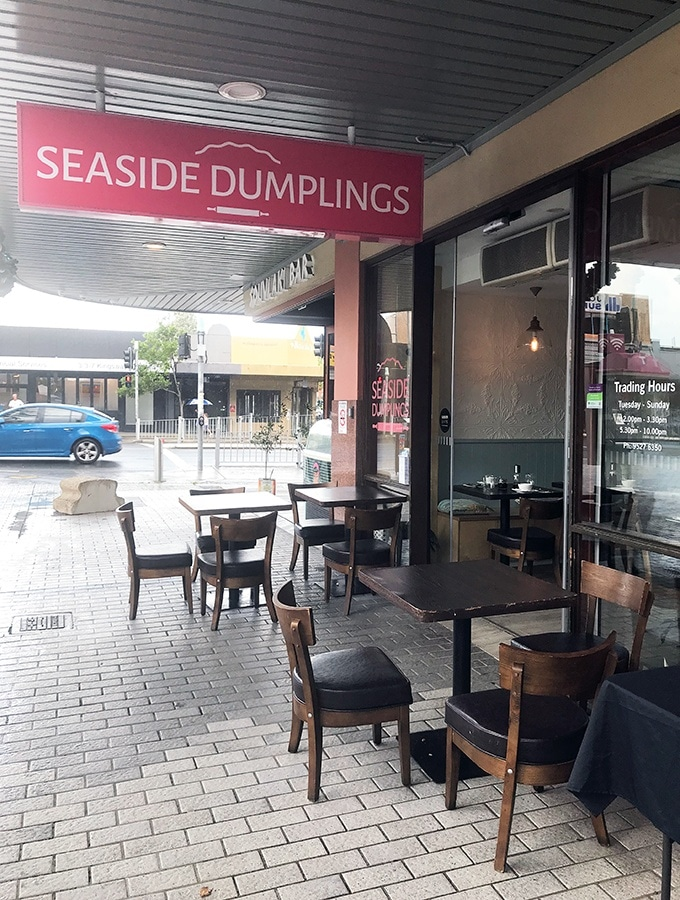 Seaside Dumplings Cronulla - Dog friendly dining in Sydney