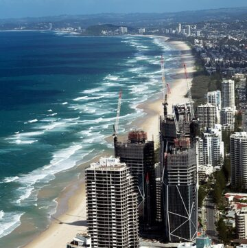 SkyPoint Bistro & Bar - stunning views from Surfers Paradise through to NSW