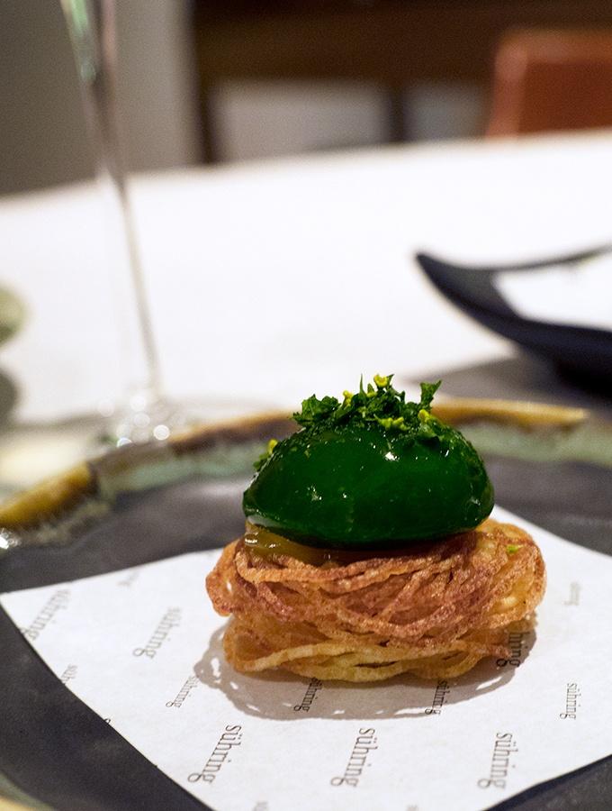 Suhring Restaurant Bangkok Thailand, Frankfurter Grune Sobbe