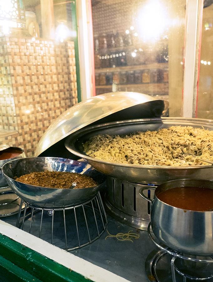 Every Middle Eastern cuisine is covered at Al Hadheerah Desert Restaurant Dubai