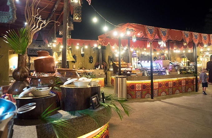 If you are after a dining experience and not just a restaurant visit then Al Hadheerah Desert Restaurant Dubai is for you.