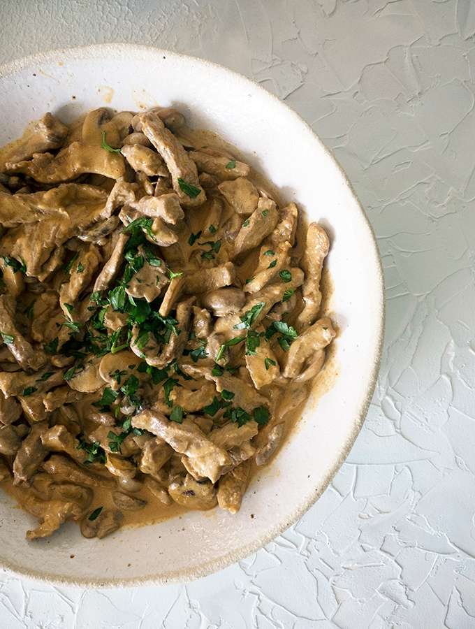 An easy and quick family meal using rib eye and pantry staples, Quick and Easy Beef Stroganoff Recipe