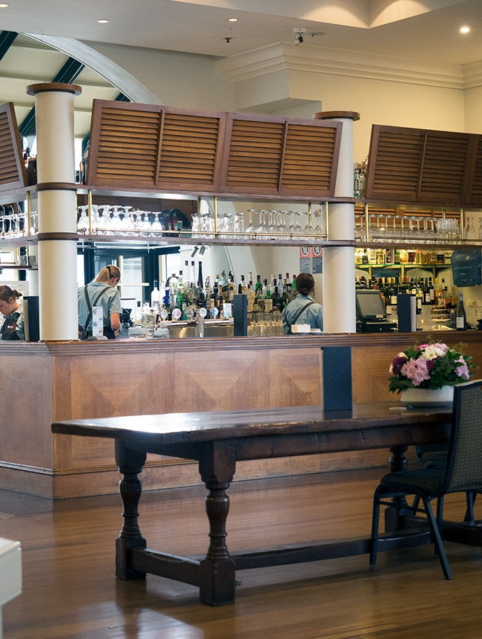 The Lord Ashley Bar at the Crowne Plaza Resort in Terrigal