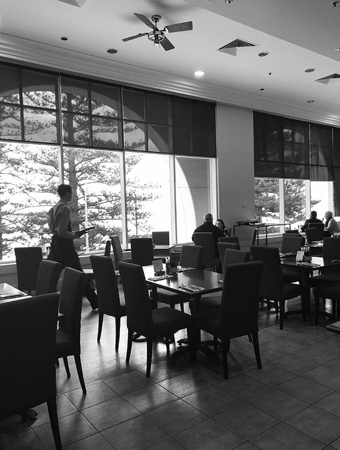 Seasalt Restaurant Terrigal is located in the Crowne Plaza Resort