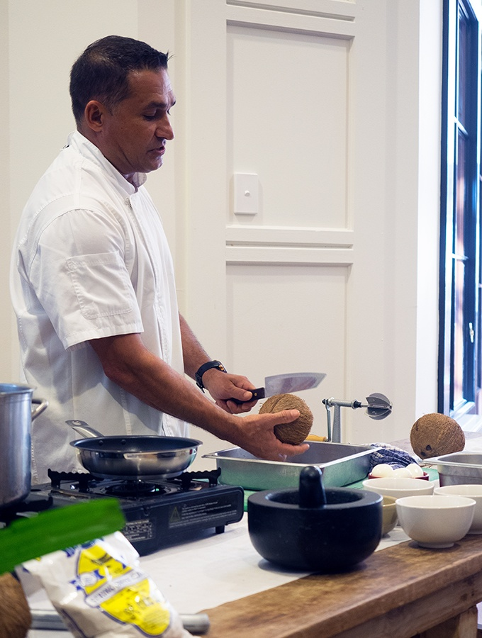 The joys of fresh coconut - Taste of Sri Lanka with Peter Kuruvita