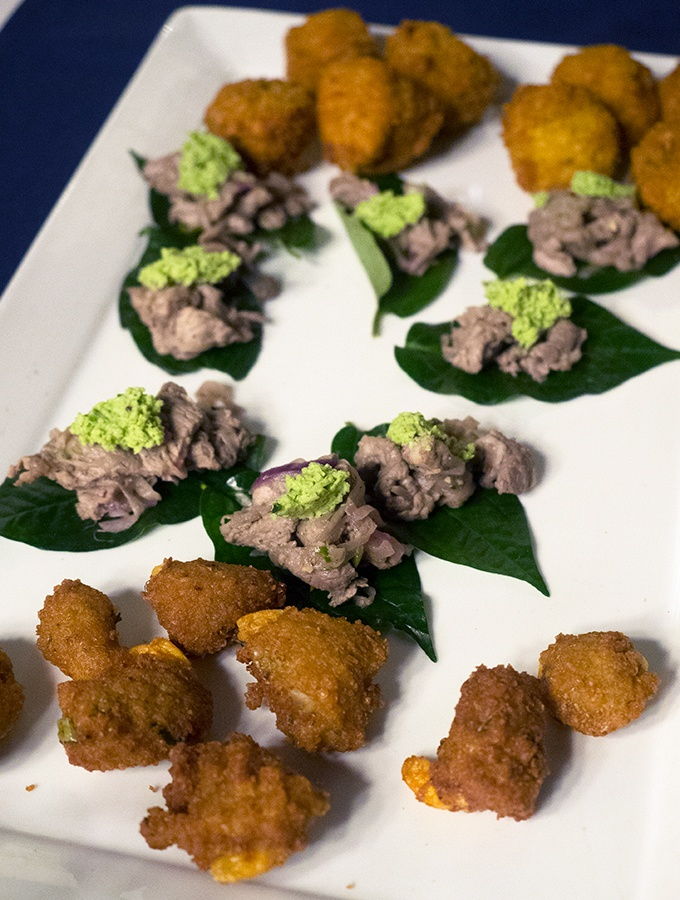 Canapes - Taste of Sri Lanka with Peter Kuruvita Dinner