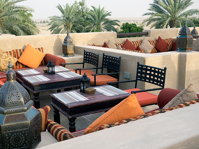 Bab Al Shams Resort and Spa - Al Sarab roof top bar