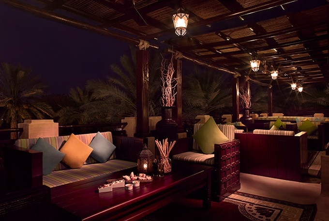 Bab Al Shams Resort and Spa - When night falls in Dubai Desert