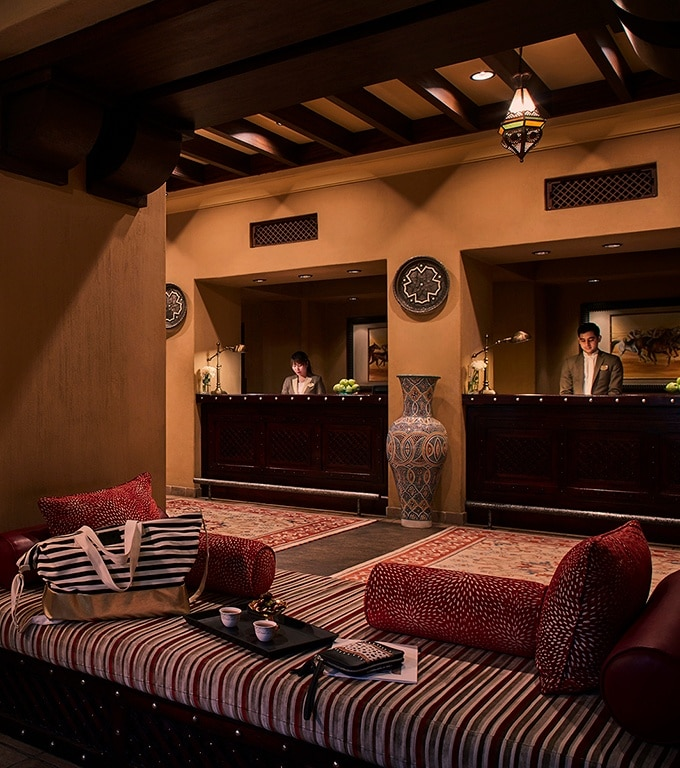 Bab Al Shams Resort and Spa - The Lobby