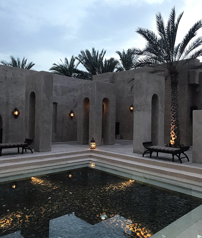 Dubai desert oasis accommodation - Bab Al Shams Resort and Spa