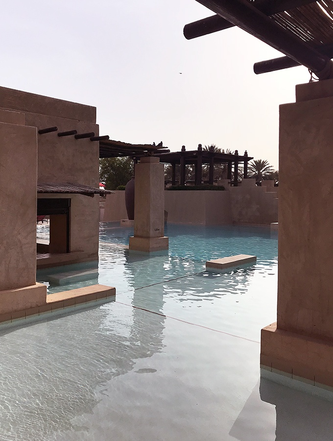 Beautiful pools in Dubai - Bab Al Shams Resort and Spa