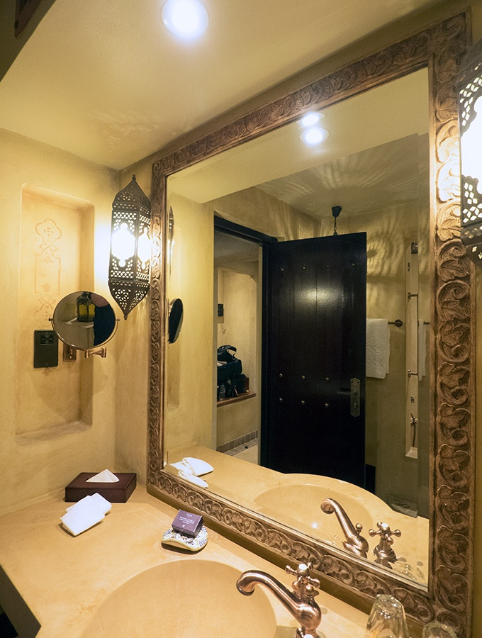Bathroom for two - Bab Al Shams Resort and Spa