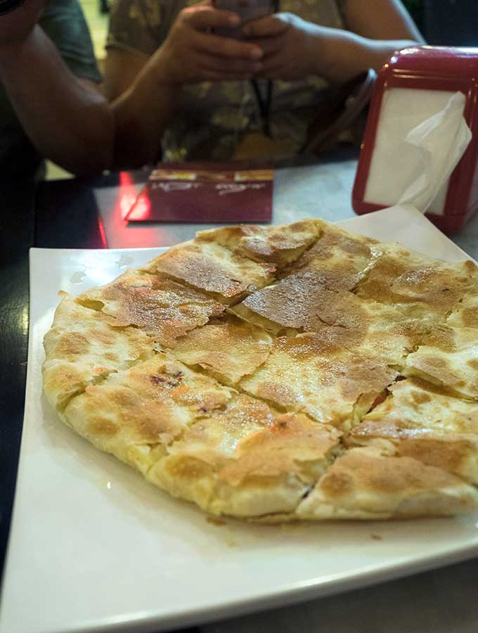 Flaky and crisp Egyptian Pie in Dubai