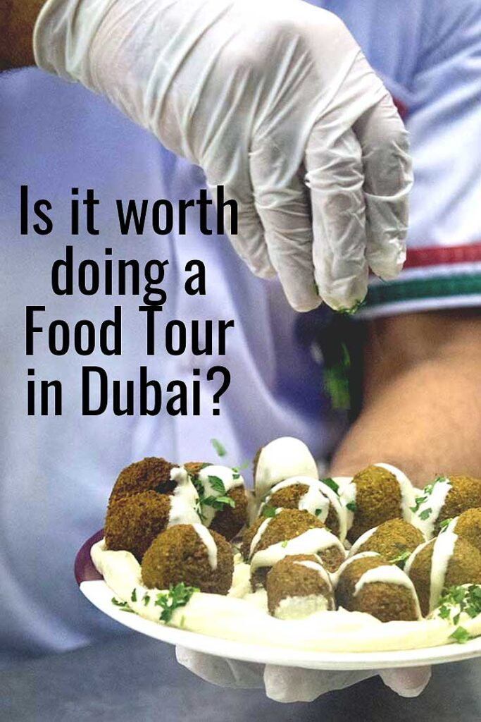 Dubai Food Tour Preparing Falafel