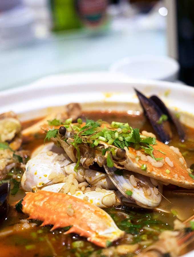 macanese cuisine arroz de marisco