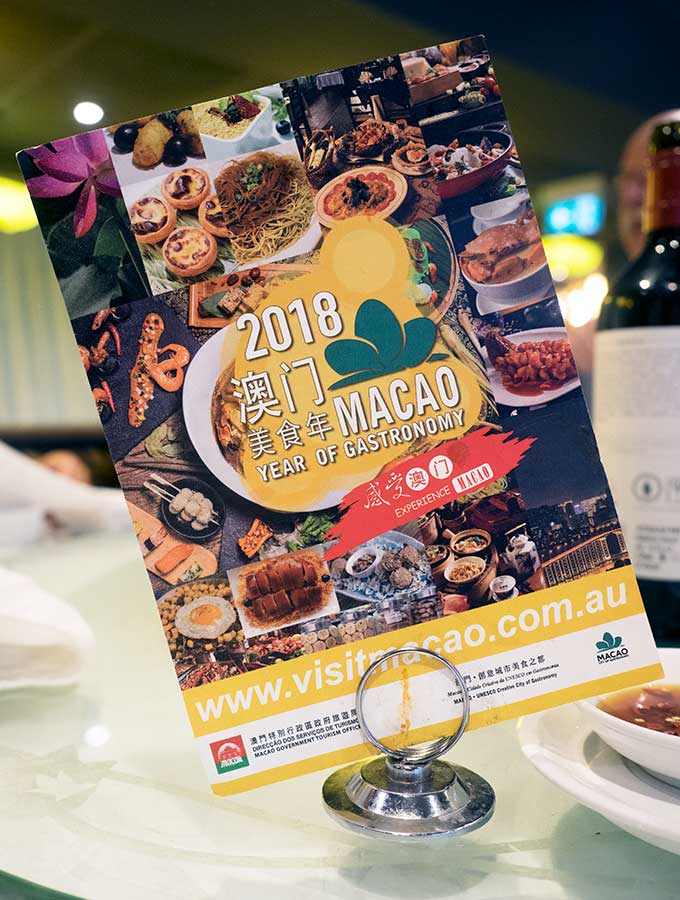 Macanese Cuisine Sydney - Taste of Macao Food Month