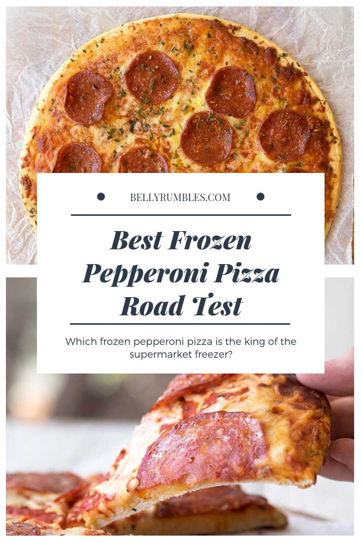 Best frozen pepperoni pizza road test - what is the best frozen pepperoni pizza at the local supermarket?