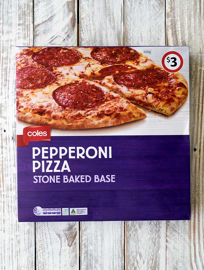 best frozen pepperoni pizza Coles Pepperoni Pizza