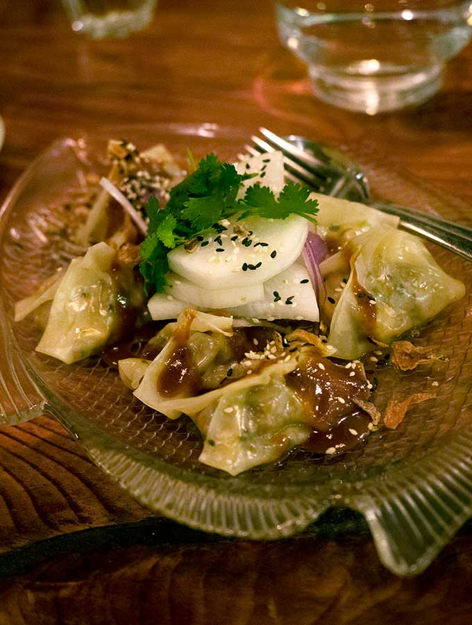 Paydirt Eatery Braidwood cauliflower dumplings