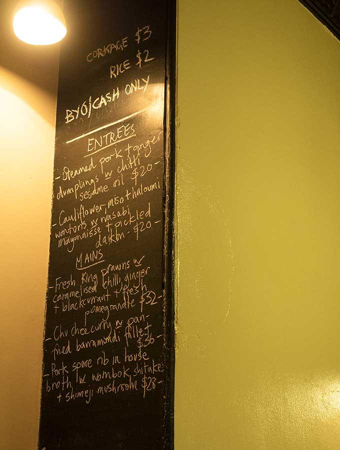 Paydirt Eatery Braidwood menu