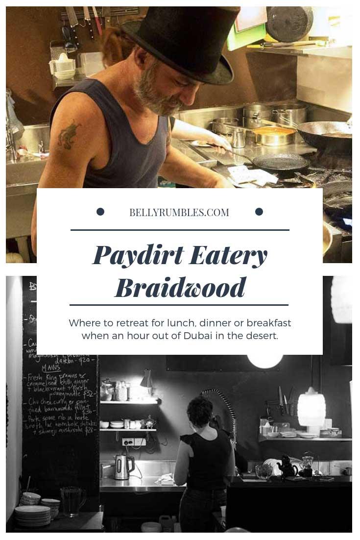 Paydirt Eatery Braidwood