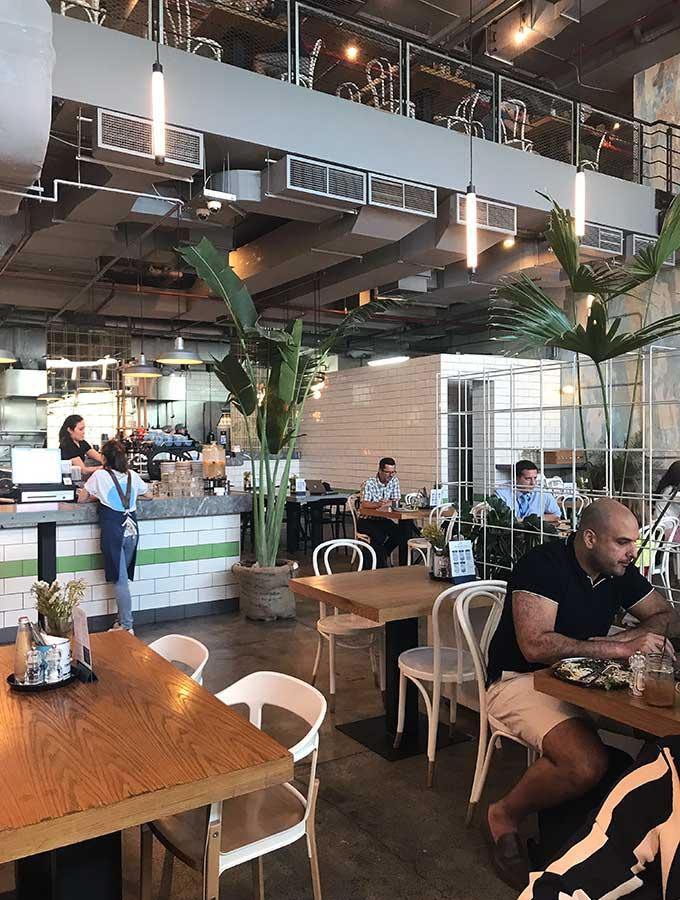 Downstairs seating at Tom & Serg Dubai