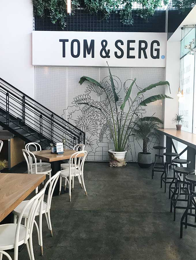 Tom & Serg Cafe Dubai
