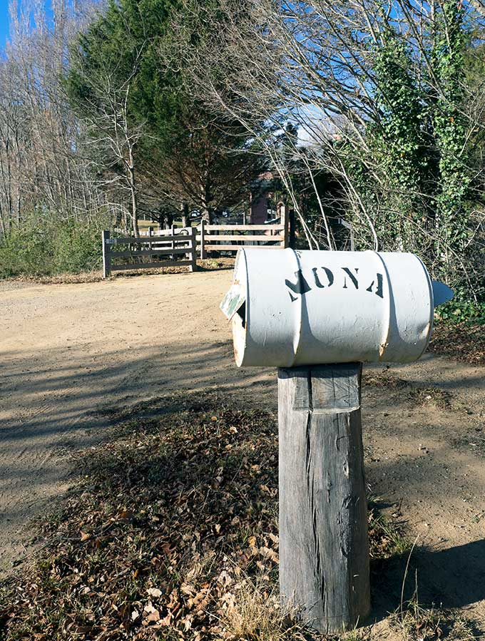 moan farm letter box