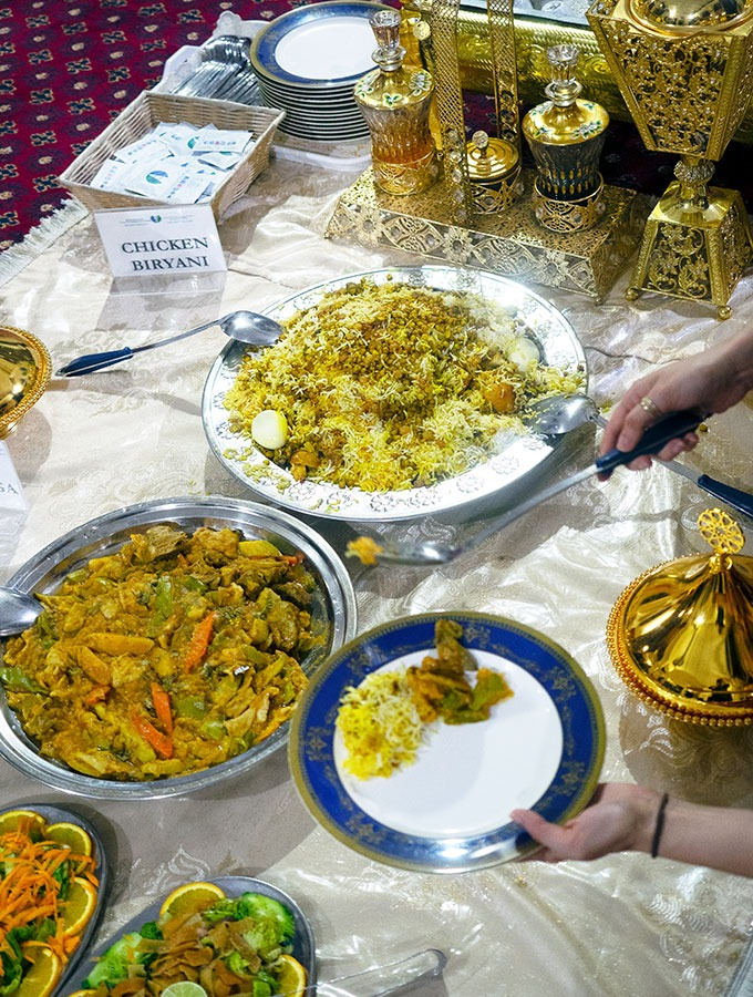 various arabic dishes for iftar during ramadan