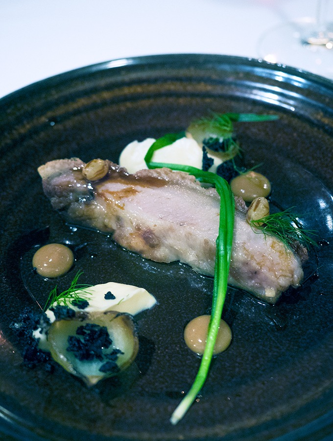 Northland pork, parsnip, golden raisins, black pudding