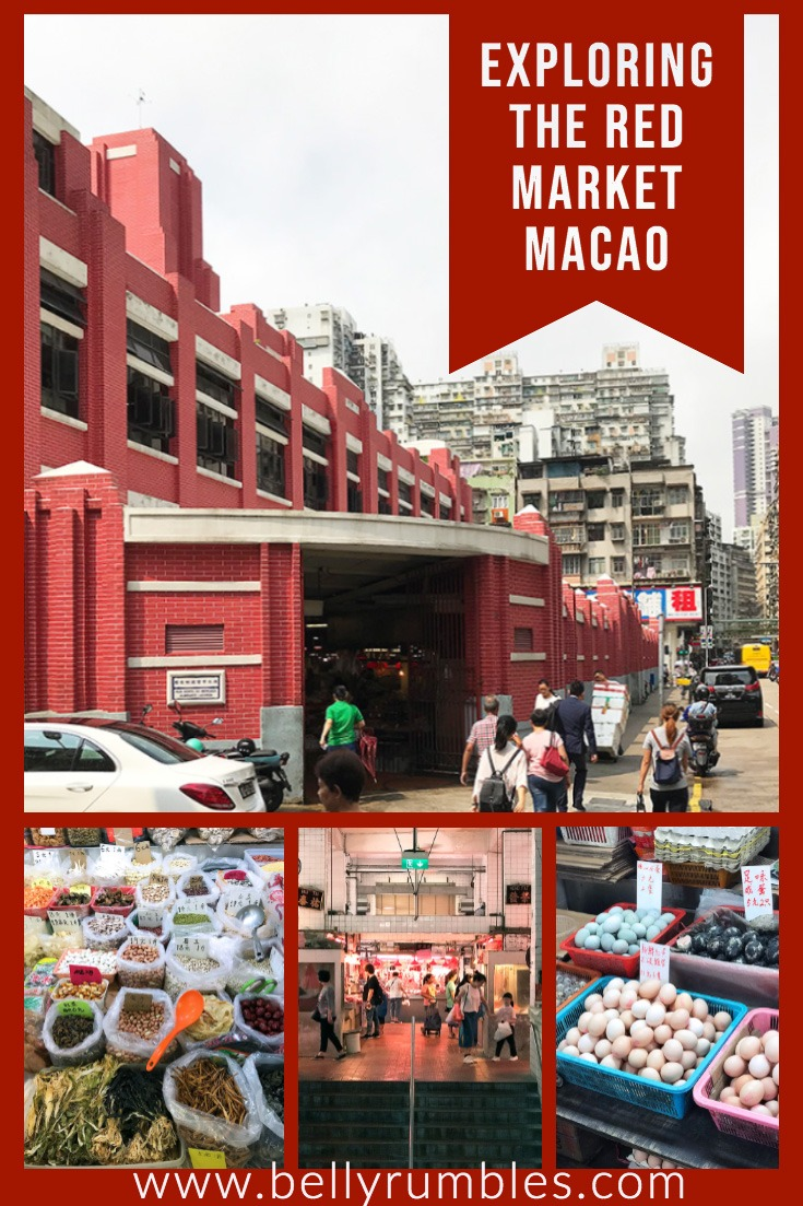 various images of the red market macao