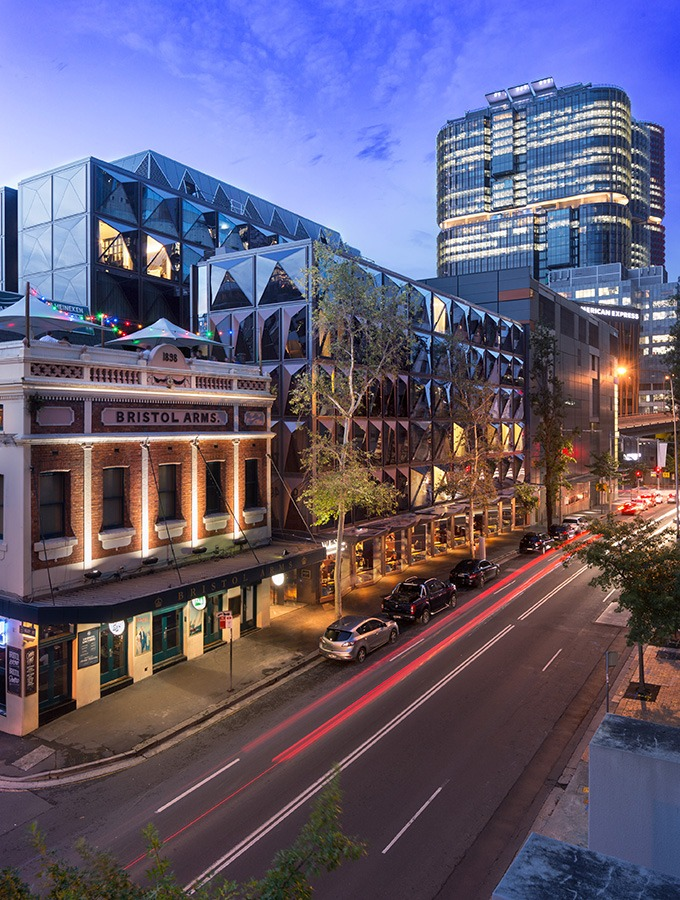 sydney street showing west hotel