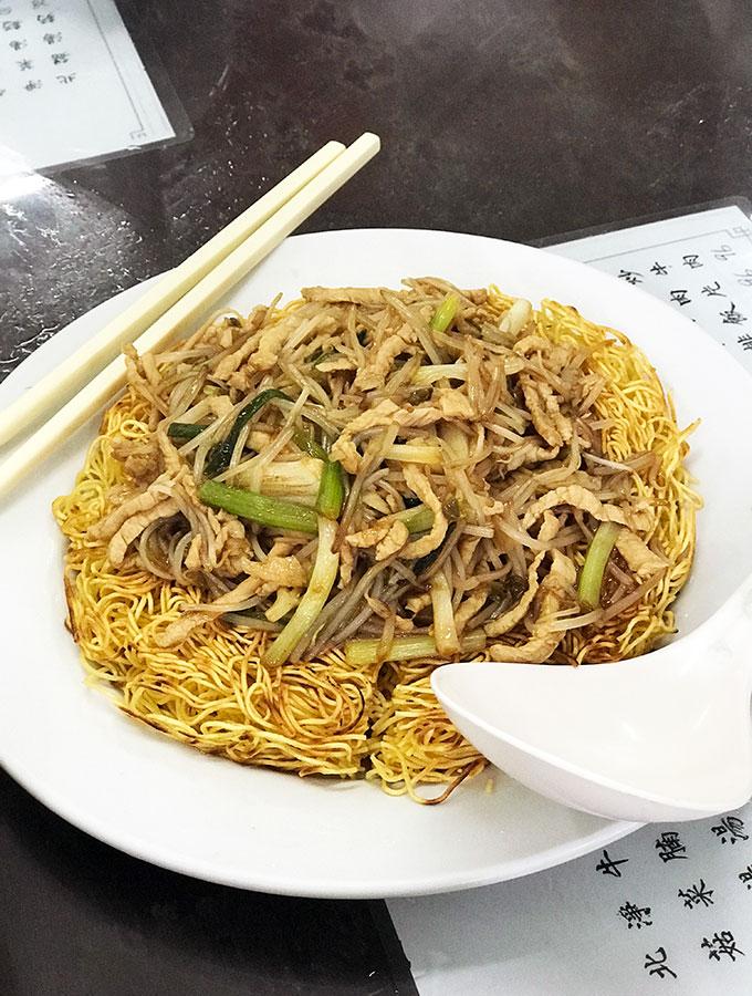 Long Va Tea House in Macao - pork noodles