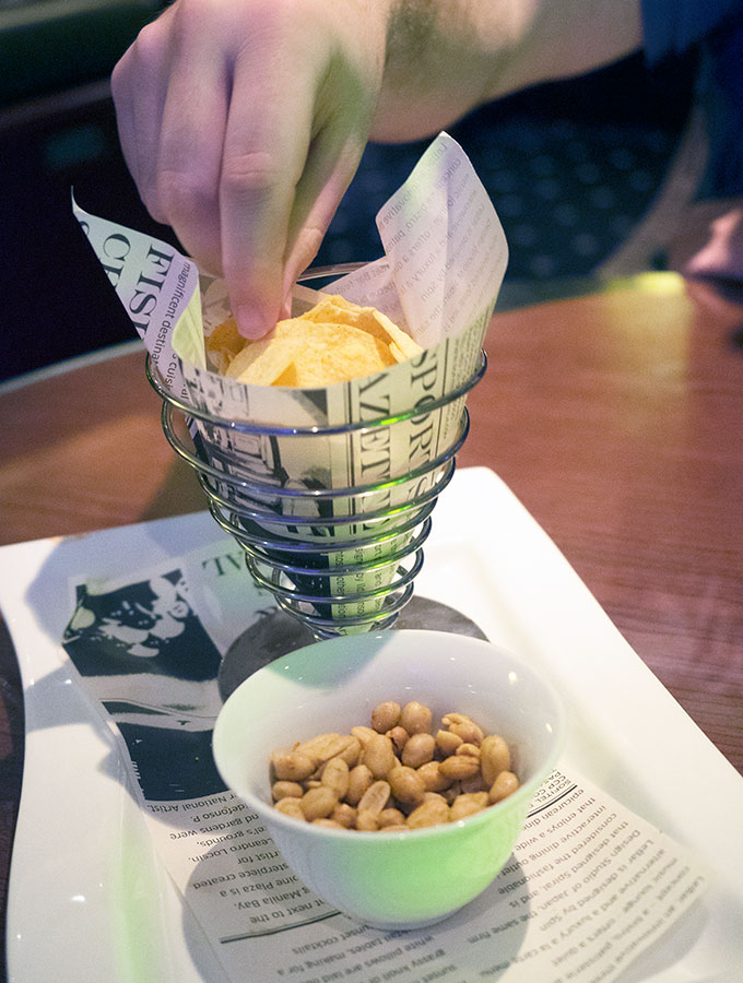 chips and nuts