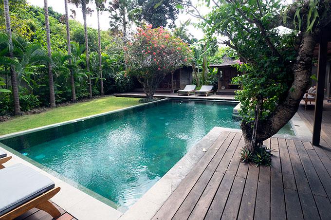 pool at villa amore seminyak bali