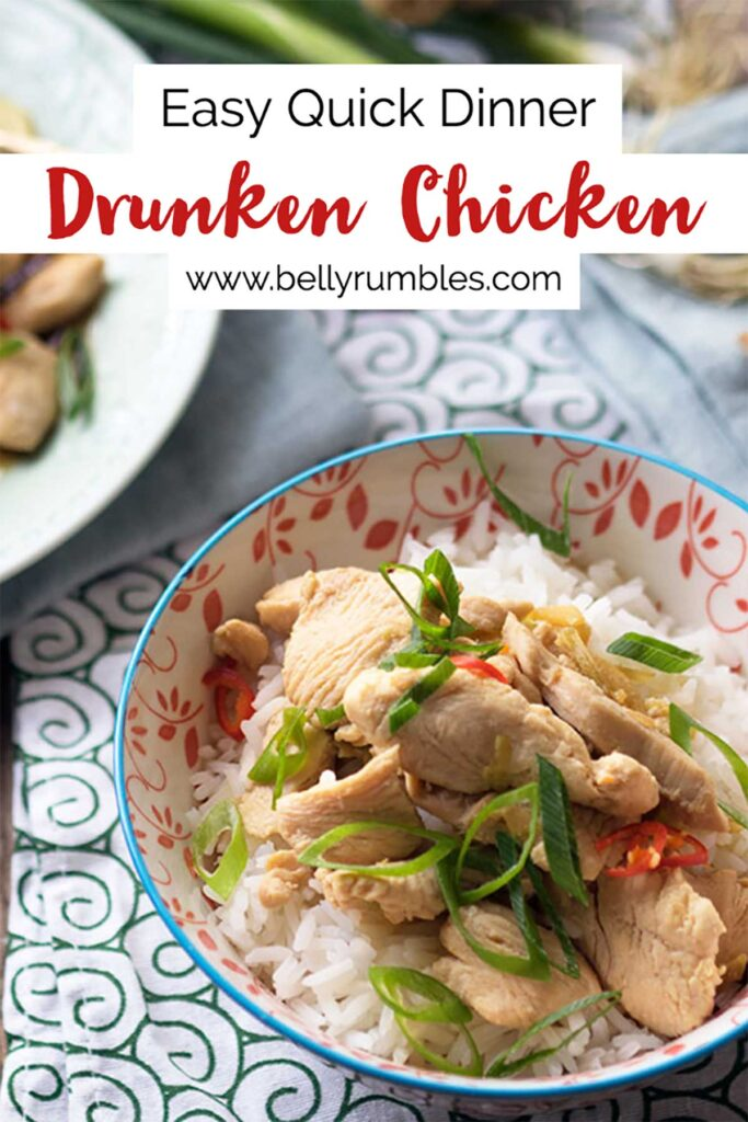 drunken chicken pinterest pin