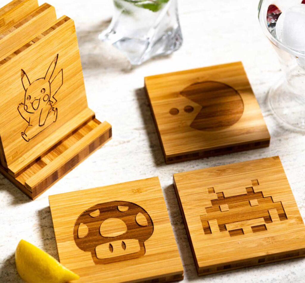 gamer coasters