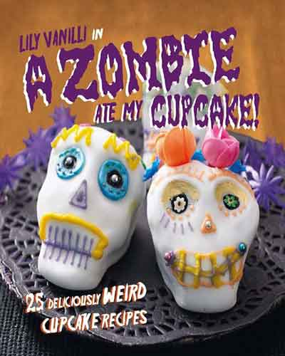 book cover a zombie ate my cupcake
