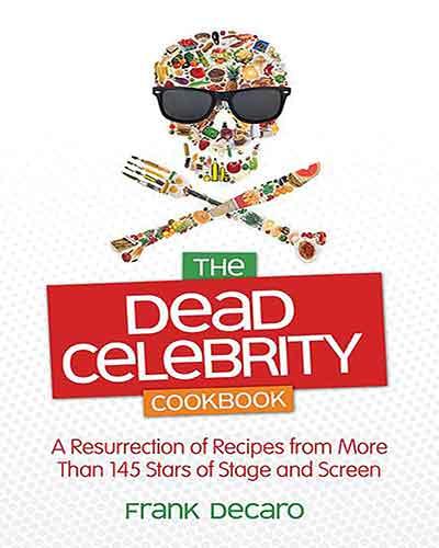 book cover the dead celebrity cookbook