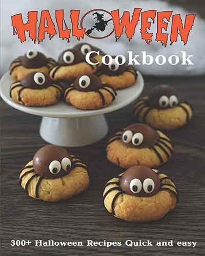 book cover halloween cookbook