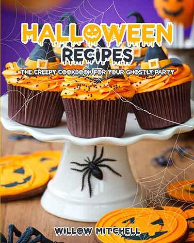 book cover halloween recipes