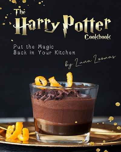 book cover the harry potter cookbook