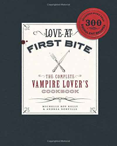 book cover the complete vampire lover's cookbook