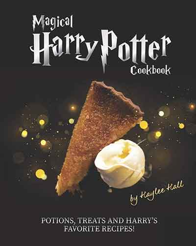 book cover magical harry potter