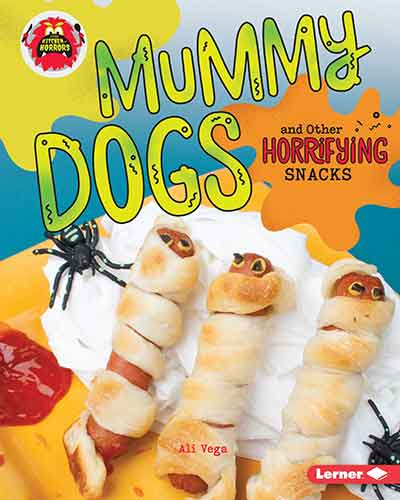 book cover mummy dogs