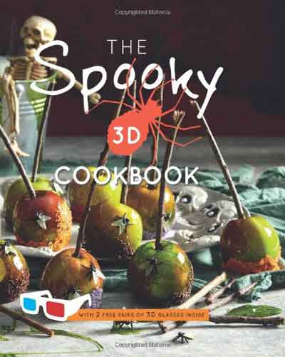 book cover the spooky 3d cookbook
