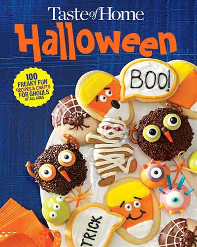 book cover taste of home halloween