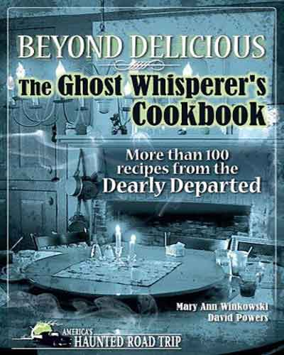 book cover the ghost whisperer's cookbook