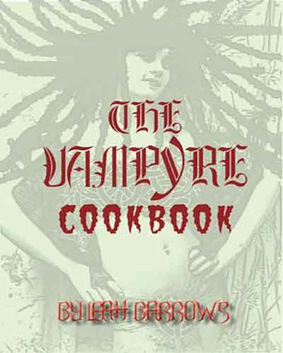 book cover the vampyre cookbook