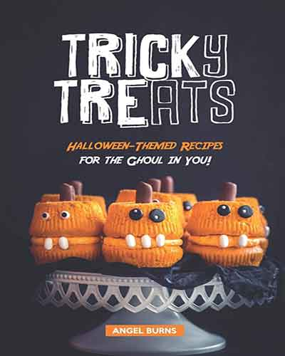 book cover tricky treats